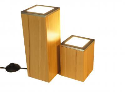 Lampen holzboutique for Led holzlampe